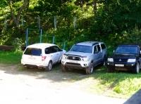 Стоянка для автомашин.