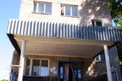 Главный корпус. Центральный вход.